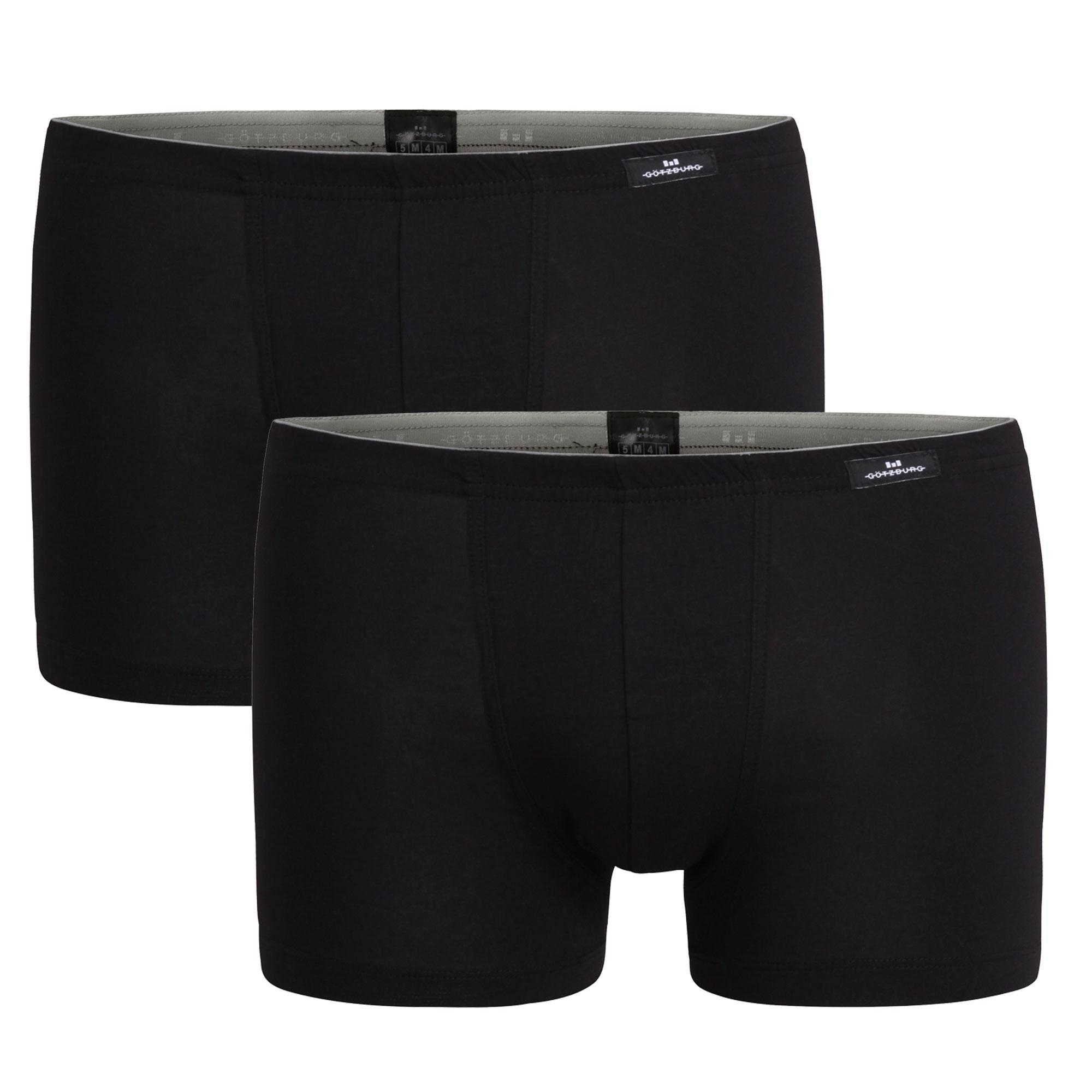 Götzburg Herren Modal Pants, 2 Stück, atmungsaktiv, weich – Bild 2