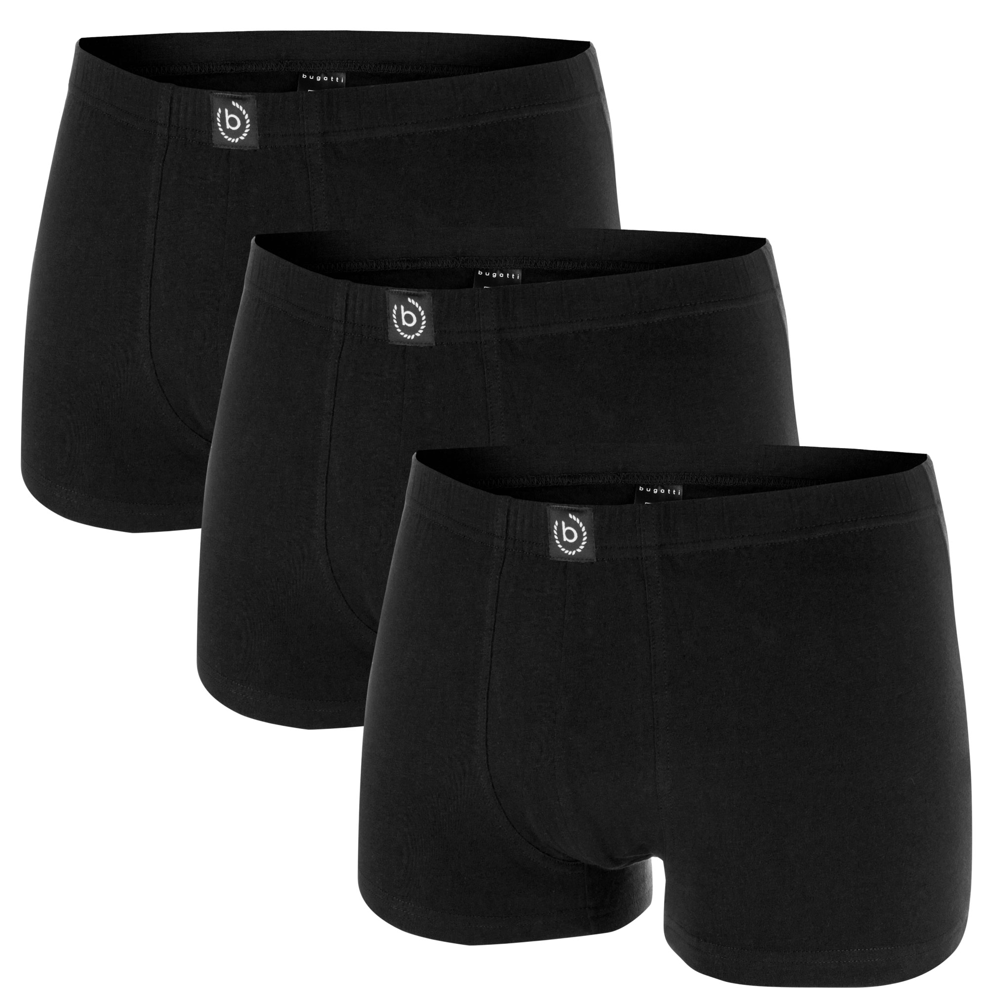 bugatti Herren Boxershorts / Pants in einer Box, 3 Stück – Bild 3