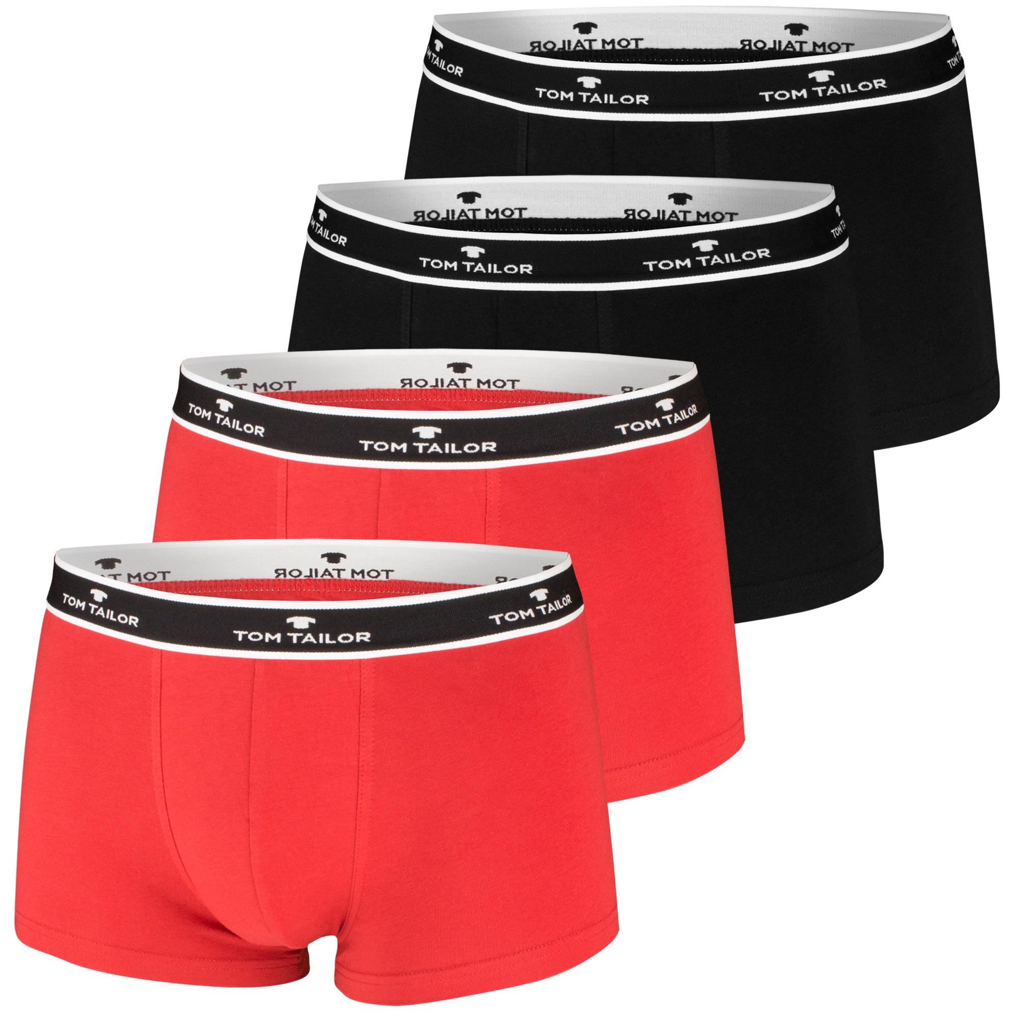 Tom Tailor Boxershorts, 4 Stück, viele Farben – Bild 4