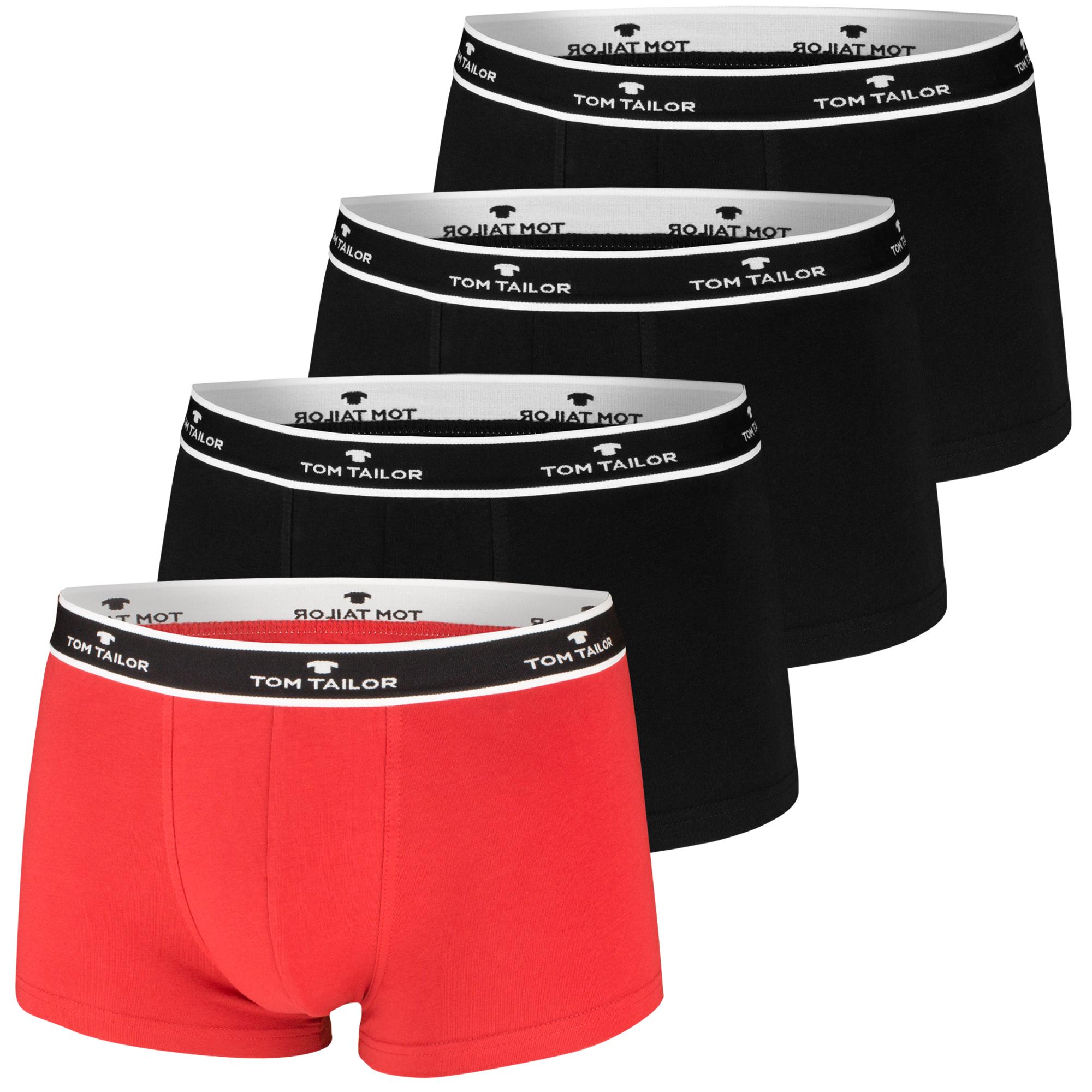 Tom Tailor Boxershorts, 4 Stück, viele Farben – Bild 8