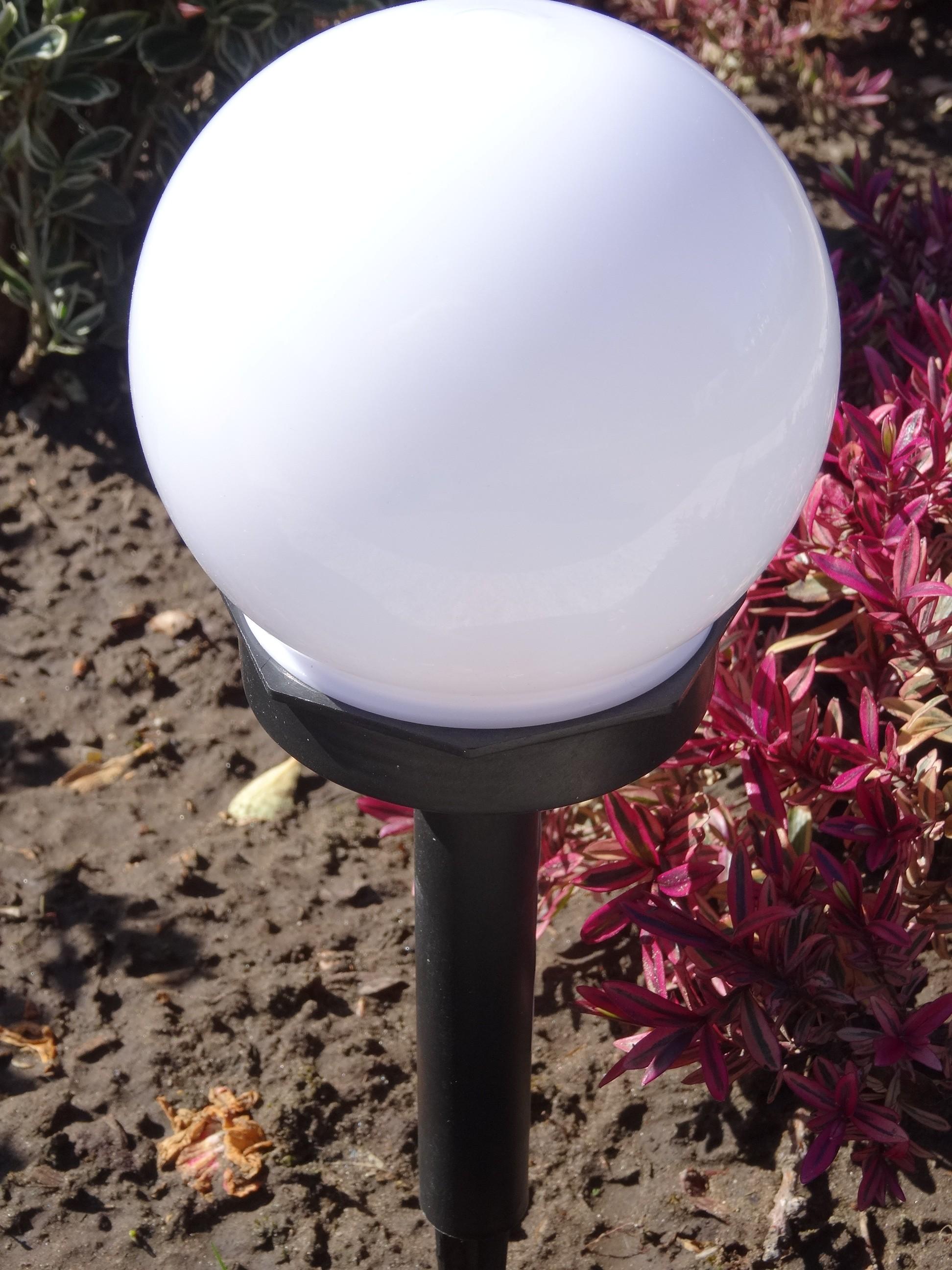 8er set led solarleuchte kugel garten beleuchtung au enleuchte lampe wegeleuchte garten. Black Bedroom Furniture Sets. Home Design Ideas