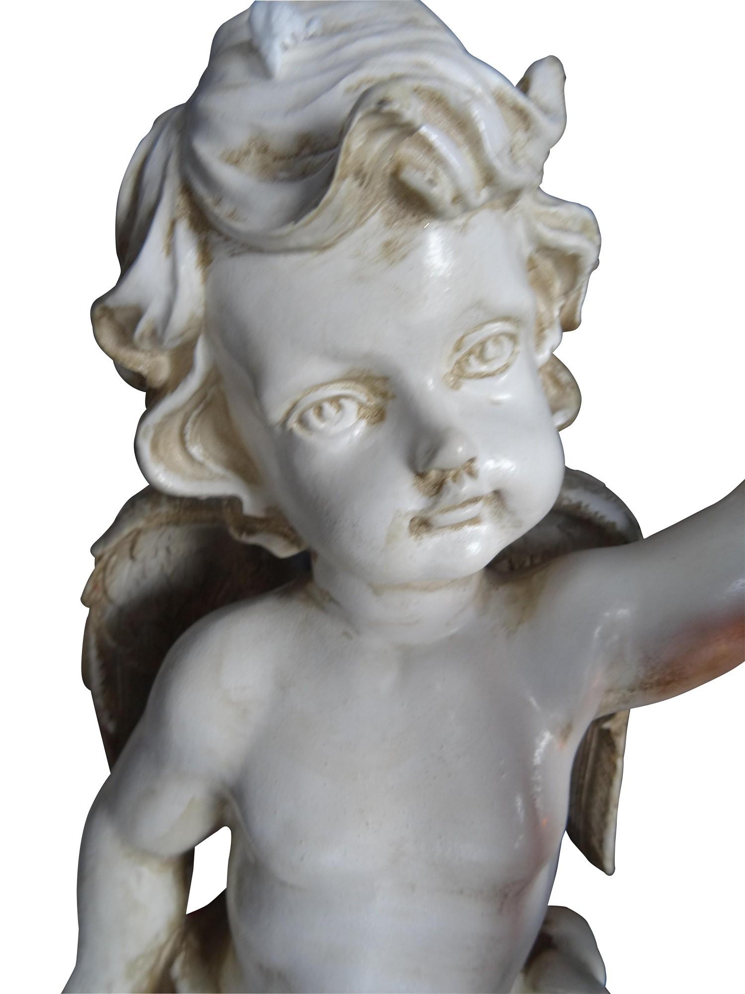 engel statue figuren garten figur engel mit laterne. Black Bedroom Furniture Sets. Home Design Ideas
