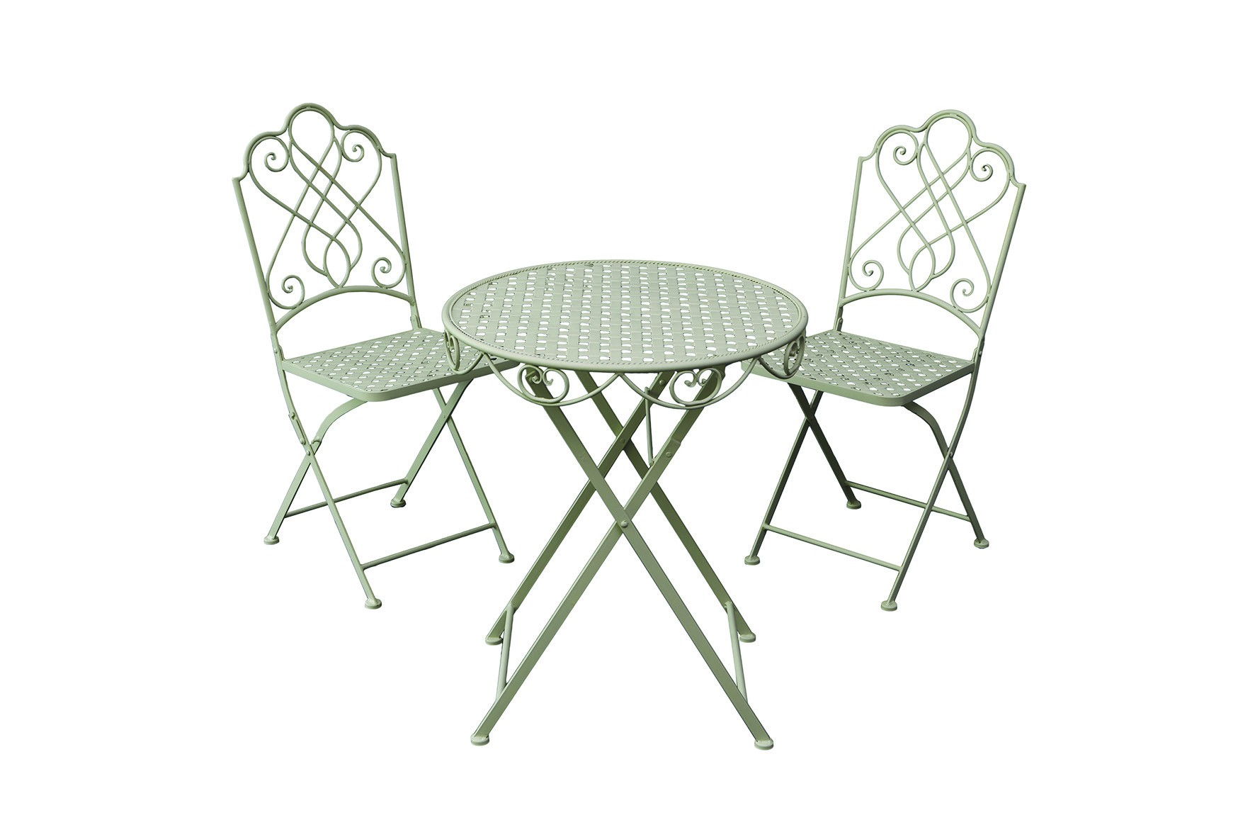 pulverbeschichtetes bistro set garten garnitur sitzgruppe 2 st hle tisch metall garten gartenm bel. Black Bedroom Furniture Sets. Home Design Ideas