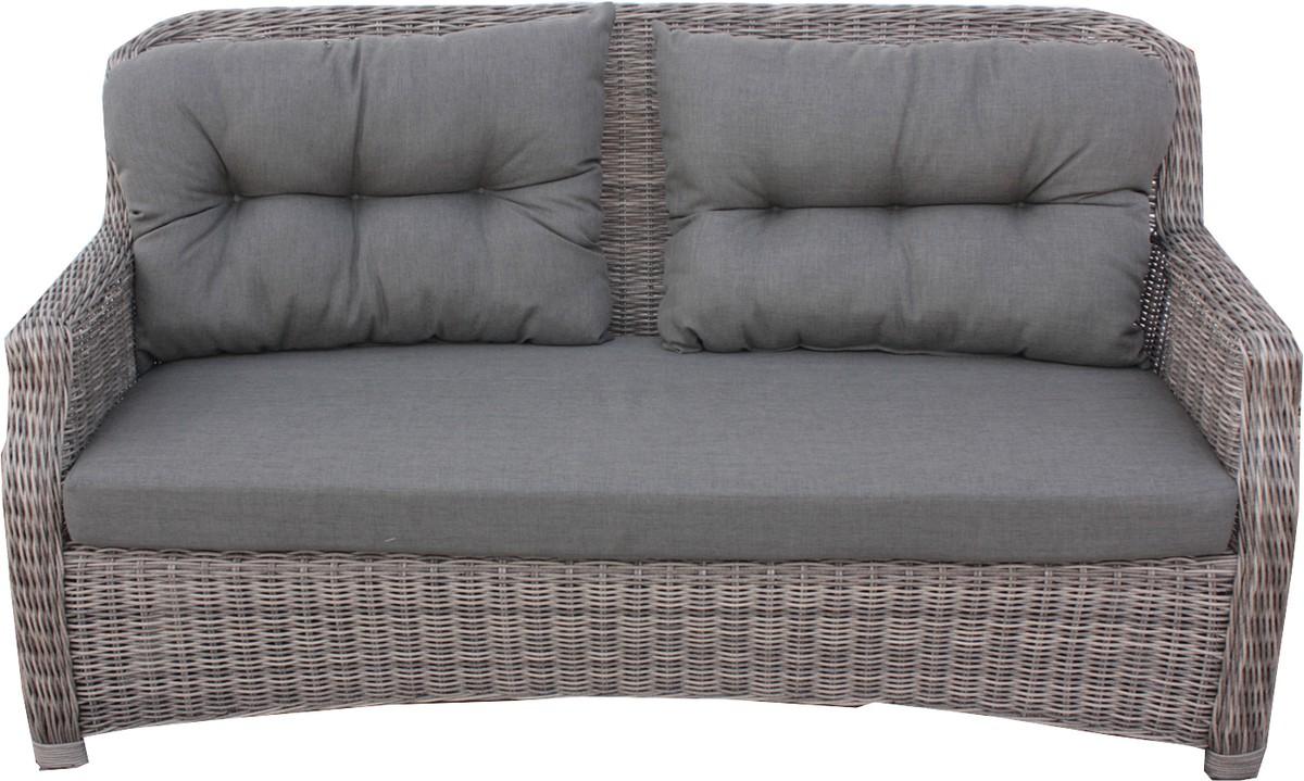 Aluminium Lounge Sofa Gartenmöbel Sitzmöbel Geflecht Möbel Balkon