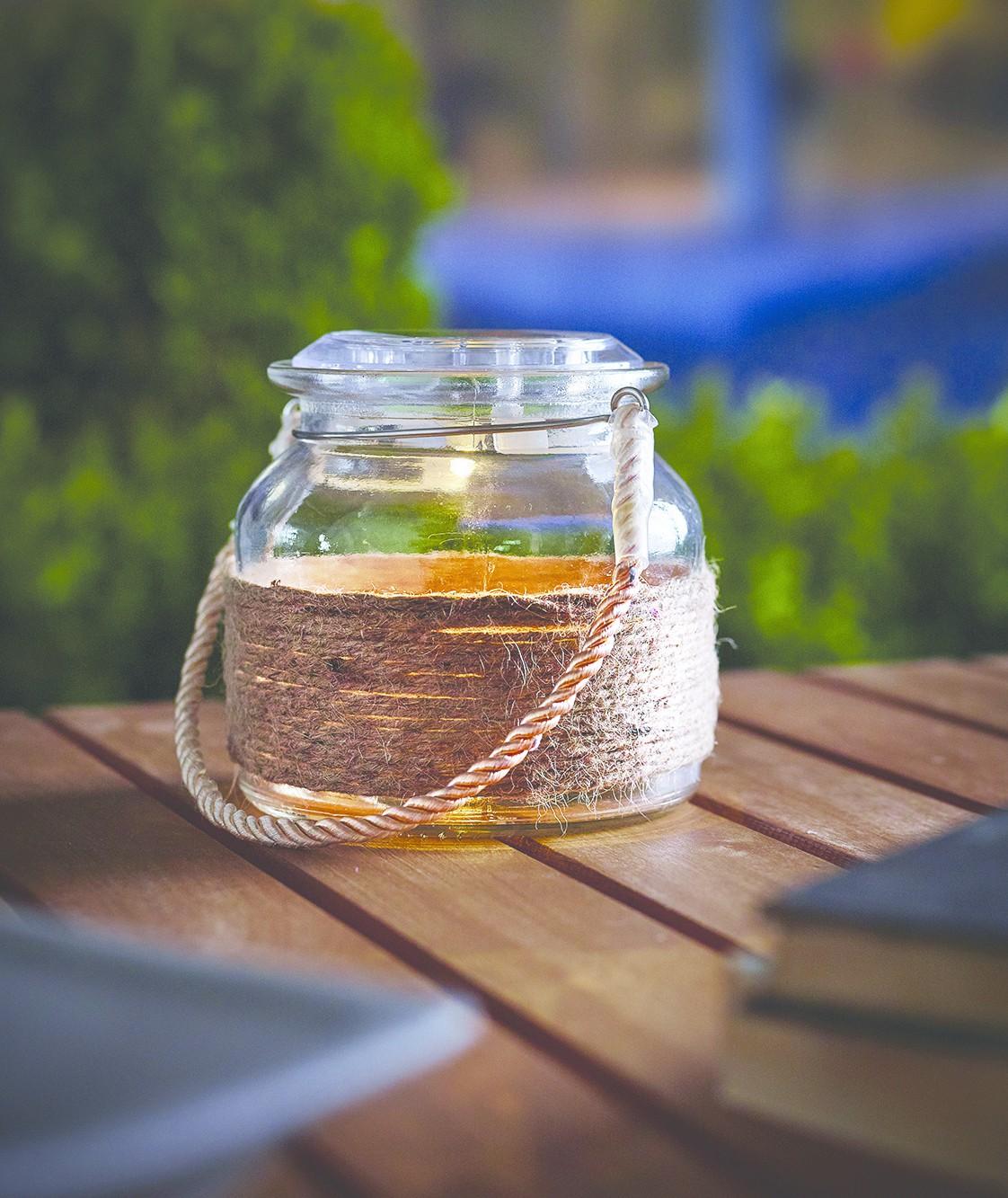 Solar leuchte einmachglas led solarlampe garten laterne for Gartendekoration glas