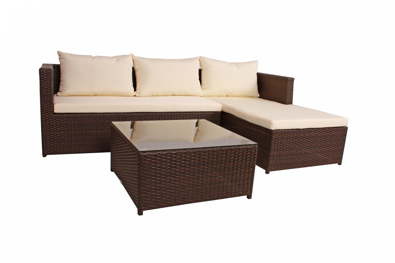polyrattan gartenm bel garnitur gartensofa sofa sitzecke lounge gartenlounge set garten. Black Bedroom Furniture Sets. Home Design Ideas