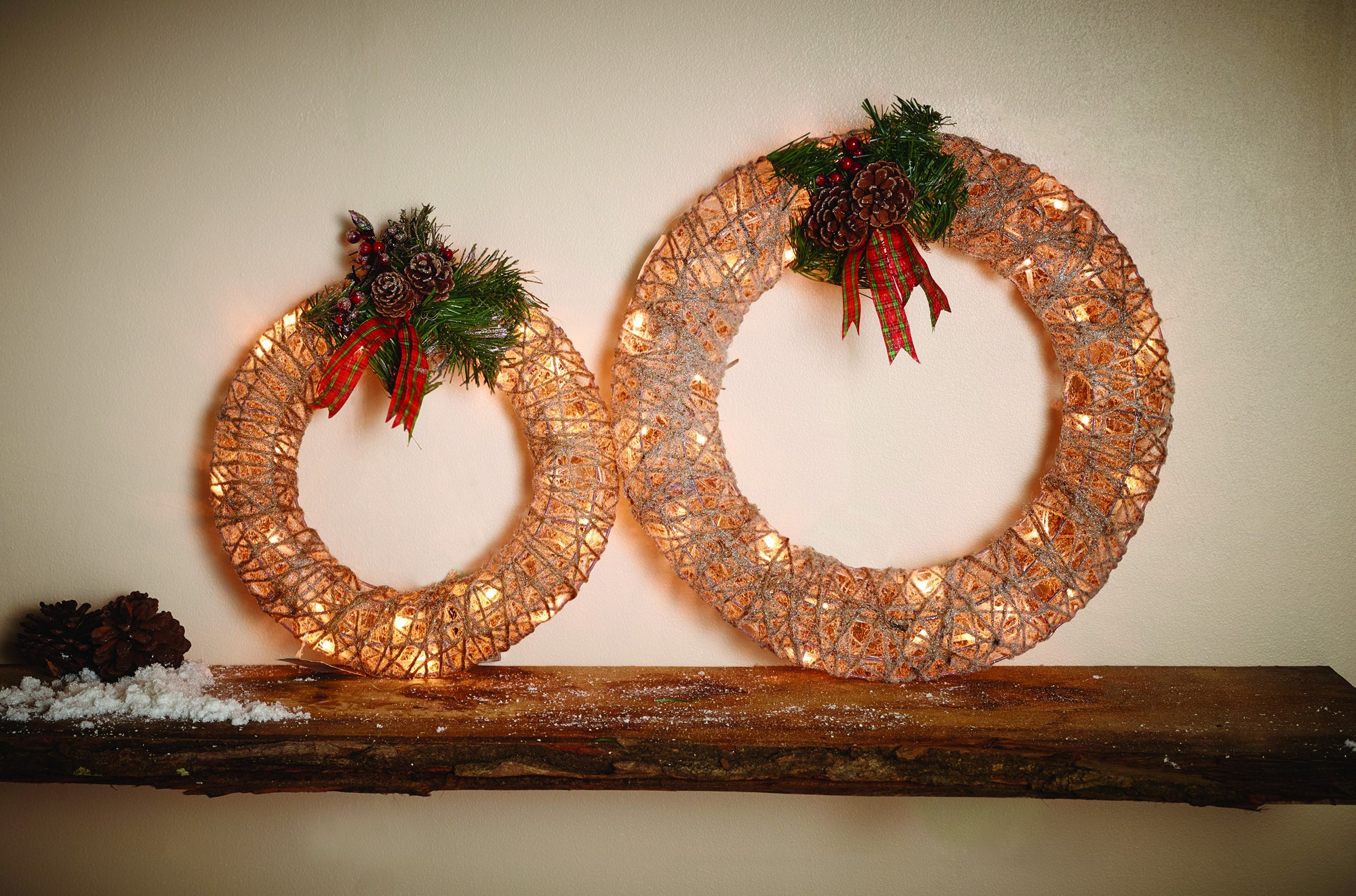 Led Dekoration Weihnachten Weihnachtsdeko Innen Aussen Rattan Led