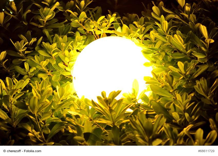 Led kugelleuchte au enleuchte gartenleuchte wegleuchte leuchtkugel wei 50cm xxl garten - Solarlampen garten kugel ...