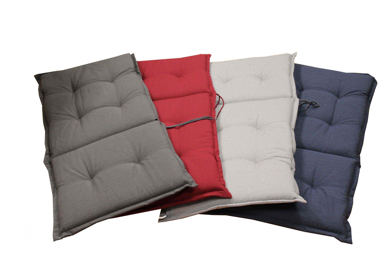 auflage hochlehner gartenstuhl sessel 117x49 polster polsterauflage sitzkissen garten. Black Bedroom Furniture Sets. Home Design Ideas