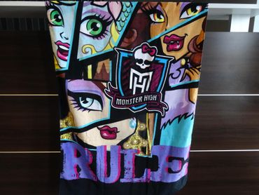 Monster High BADETUCH 70 x 140 cm Kinder Strandtuch Duschtuch Beach Towel NEU
