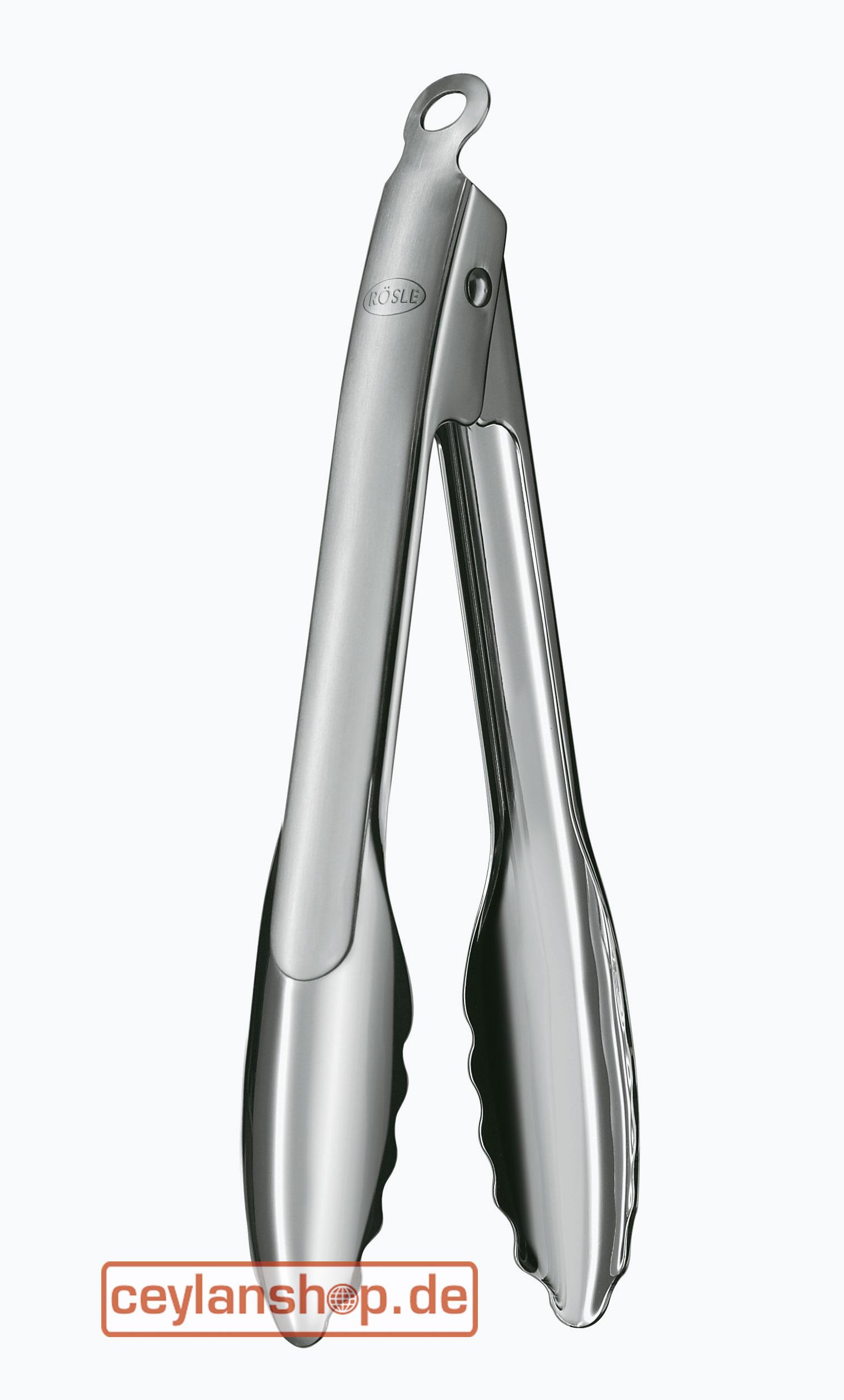 MagiDeal Edelstahl Servierzange - 26,5cm L/änge: ca. 26,5cm//32,5 cm auswahlen K/üchenzange Spaghettizange