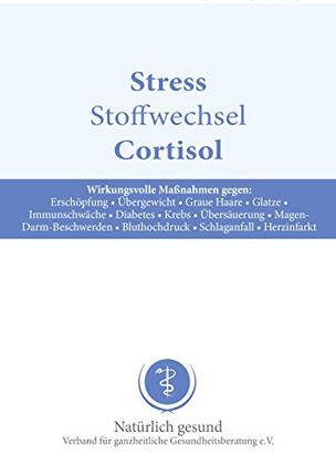 "Dr. Jacob's Broschüre ""Stress Stoffwechsel Cortisol"""