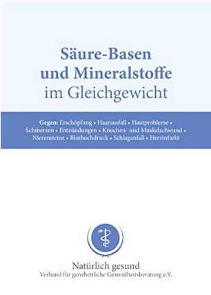 """Dr. Jacob's Broschüre """"Säure-Basen und Mineralstoffe im Gleichgewicht"""""""