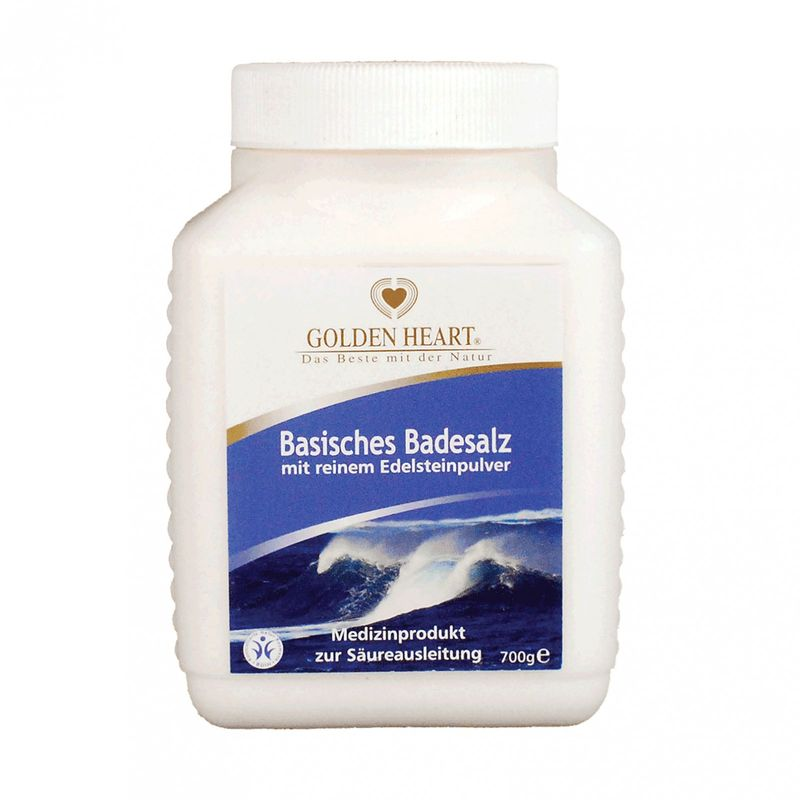 Golden Heart Basisches Badesalz 700 g