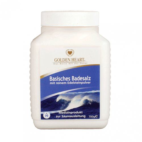 Golden Heart Basisches Badesalz 700 g 001
