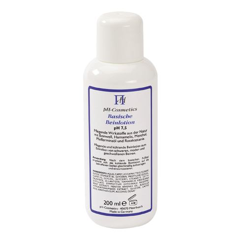 pH Cosmetics Basische Beinlotion pH 7,5 - 200 ml 001