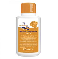 pH-Cosmetics Basische Sommermilch - pH 7,5 - 250 ml
