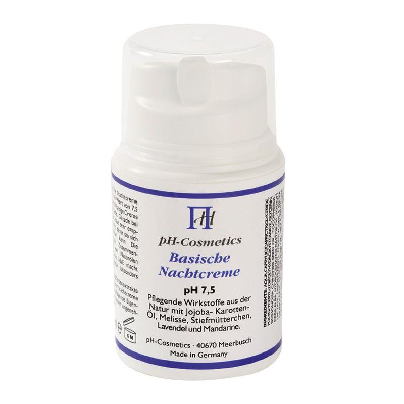 pH Cosmetics Basische Nachtcreme pH 7,5 - 50 ml