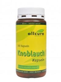 2er Set Knoblauch Kapseln 2 x 180 Stck. / Allcura