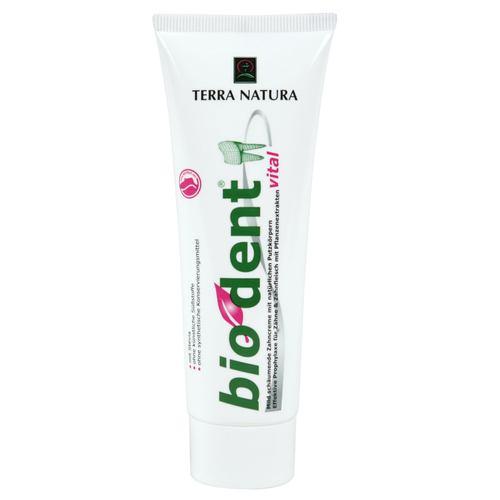 Biodent vital - Basische Zahncreme 75 ml