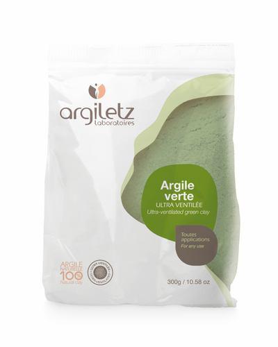Argiletz Grüne Tonerde ultrafein Argile Verte 9 + 1 x 300g (= 3 kg) zum Sparpreis