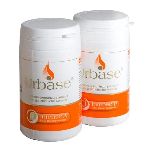Urbase® II Intense Komponente A + B Basenkapseln - Frühjahrs-Basenkur-Preis!