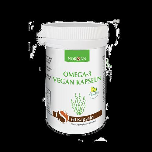 NORSAN Omega-3 Vegan Kapseln 60 Stück