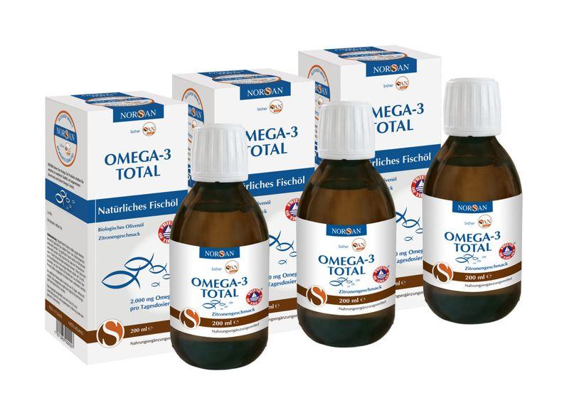 Vorschaubild: 3 x Omega-3 Total 200 ml