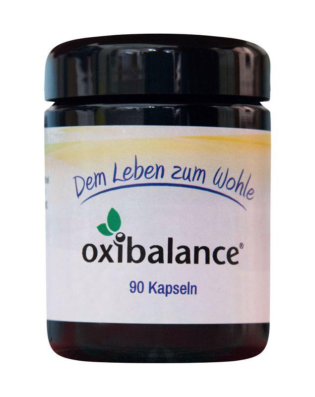 NatureMedic Solution GmbH Oxibalance® (90 Kapseln = 3-Monats-Vorrat) - wg. Sortimentsänderung Aktion 13% (+2%Skonto) - Nur solange der Vorrat reicht!! Code: 15-2019 – Bild 1