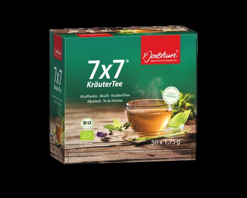 P. Jentschura 7x7 KräuterTee bio - Filterbeutel à 1,75 g