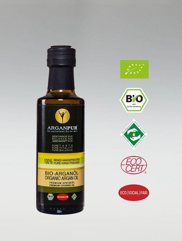 ArganPur Bio-Argan-Speise-Öl 100 ml