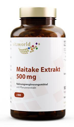 Maitake Extrakt 500 mg Kapseln 100 Stck. = 66,5 g