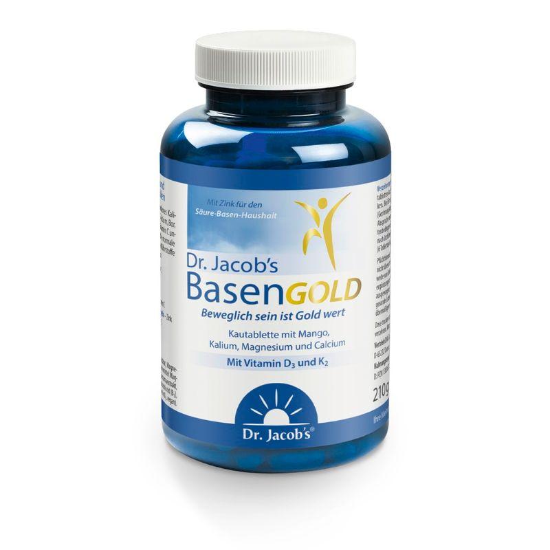 Dr. Jacob's BasenGOLD die Basenkautabletten (210g)