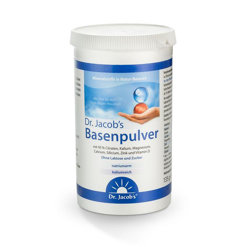 Dr. Jacob's Basenpulver 135 g - jetzt auch in der praktischen Mitnahmedose.