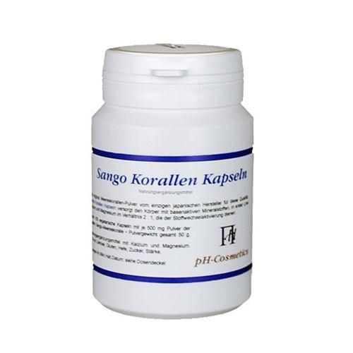 Sango Korallen Kapseln 50 g / 100 Kapseln 001