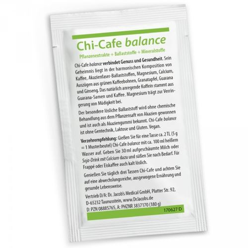 Dr. Jacob's Chi-Cafe balance 5 g Einzelportion 001
