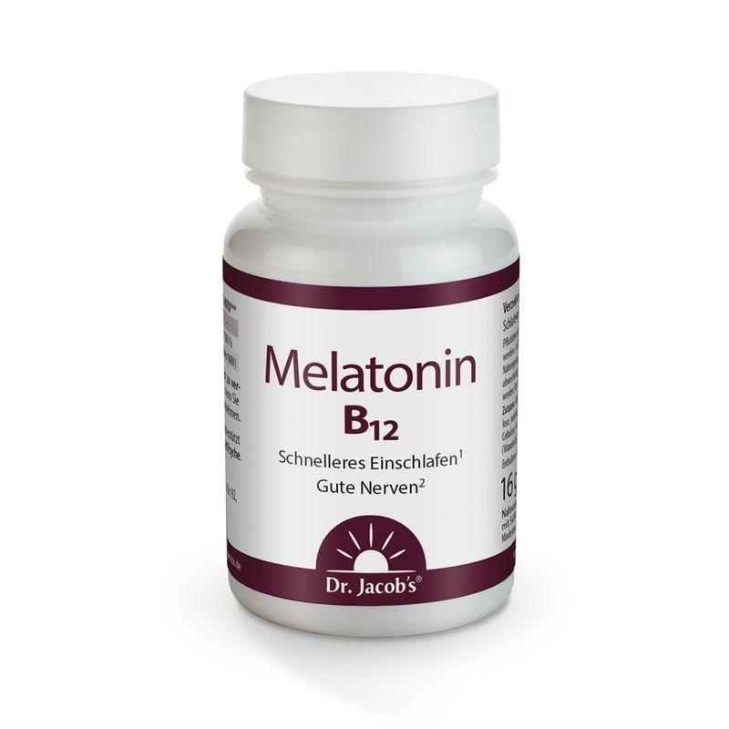 Dr. Jacob's Melatonin B12 60 Tabletten