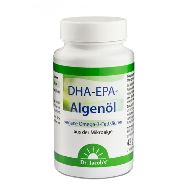 Dr. Jacob's DHA-EPA-Algenöl (Omega 3) 60 Kapseln – Bild 2