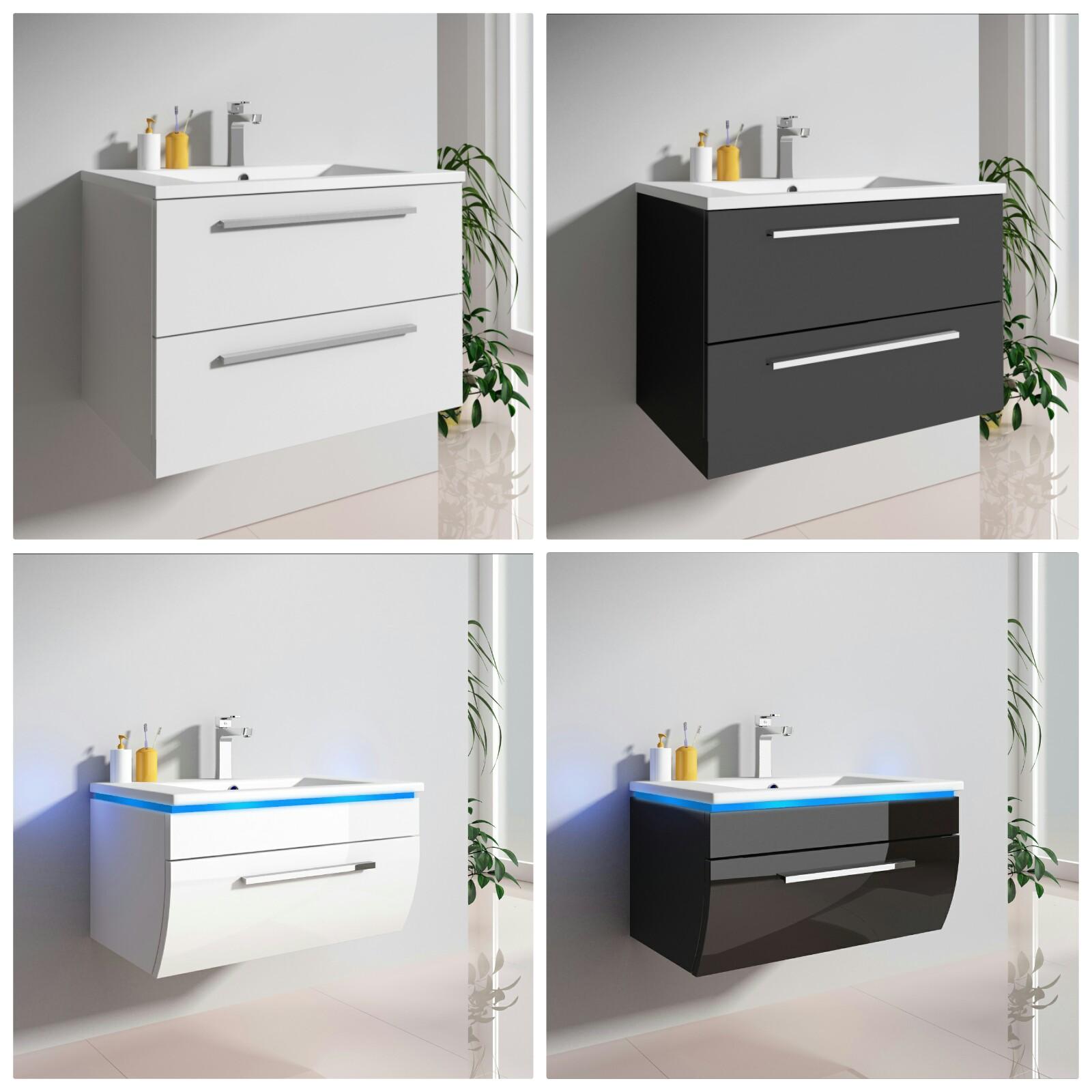 badm bel set 2 tlg unterschrank rund mit einer schubklappe eckig mit zwei schubladen badm bel. Black Bedroom Furniture Sets. Home Design Ideas