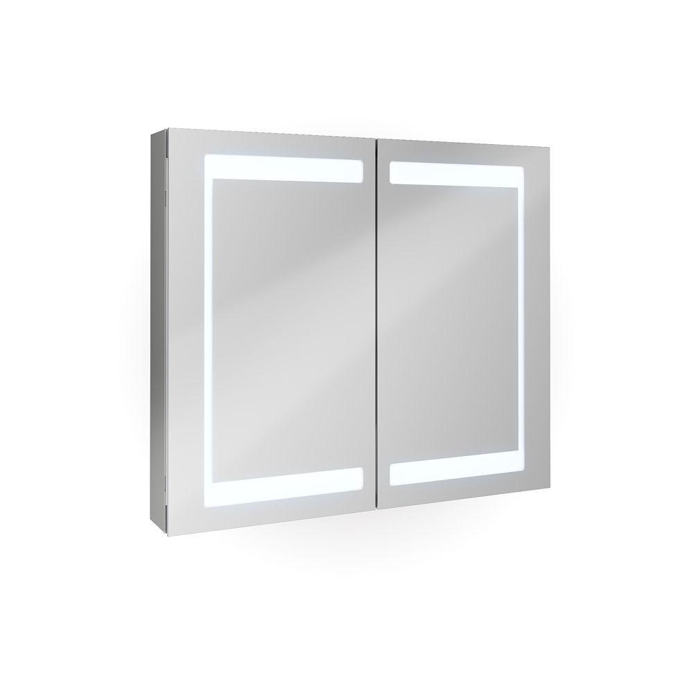 Led touch spiegelschrank badm bel for Spiegelschrank mit led