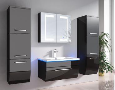 Badmöbel-Set Binz | LED-Touch-Spiegelschrank – Bild 3