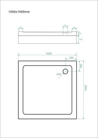 Duschtasse 14 cm Sammelinserat – Bild 7