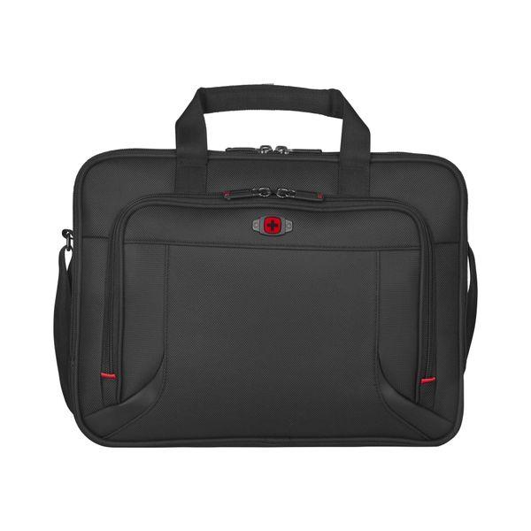 Prospectus 16 Zoll Laptop Brief W/Tablet, Schwarz