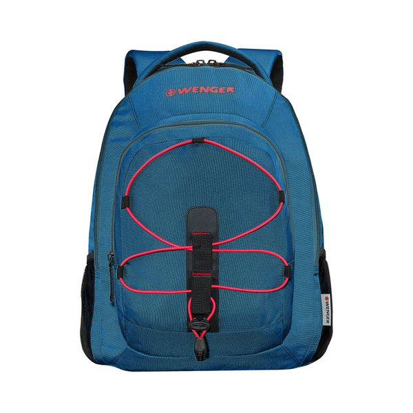 BTS 2020, Mars, 16 Zoll Laptop Backpack with Tablet Pocket, Teal / Rot