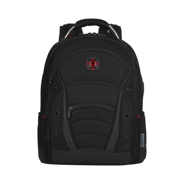 Synergy Deluxe, Ballistic 16 Zoll Laptop Backpack, Schwarz