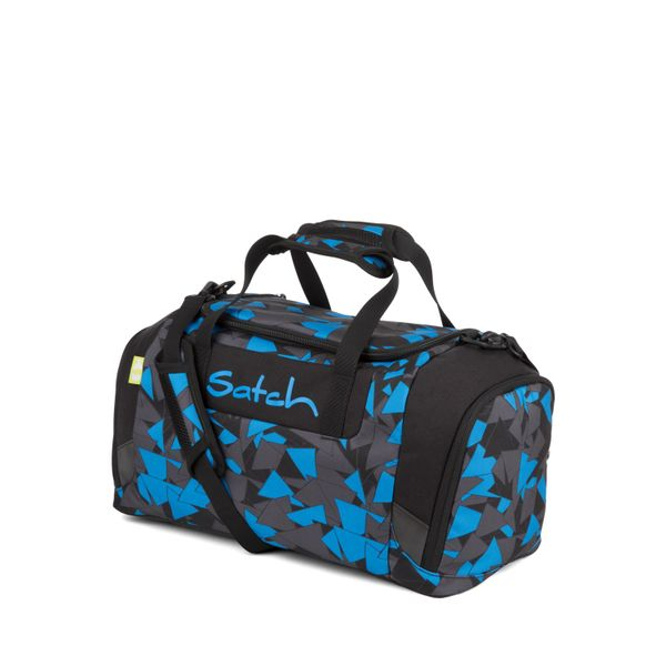 Duffle Bag Blue Triangle