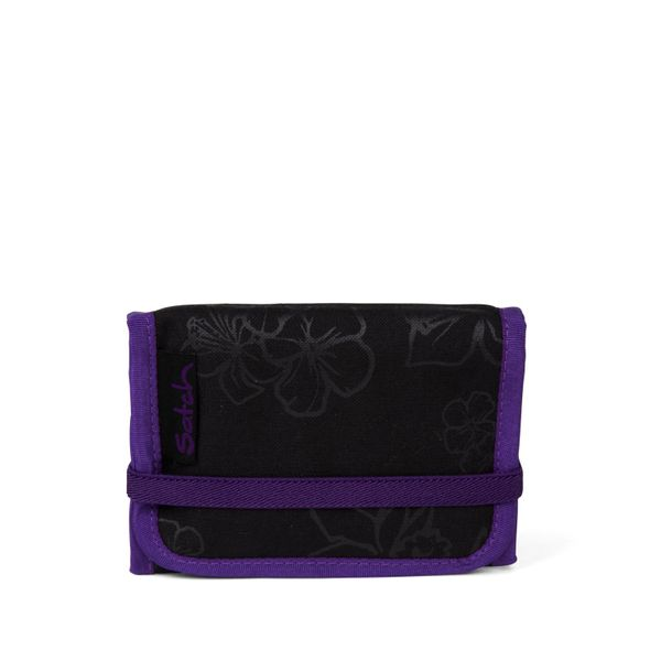 Wallet Purple Hibiscus