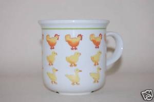 Kaffeebecher Daily Bauerntiere Hühner Kinder  Arzberg
