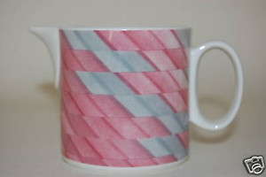 Milchgießer Collage rosa grau Villeroy & Boch wie NEU