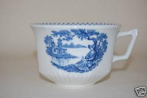 Kaffeetasse Minuet blau Wedgwood Adams